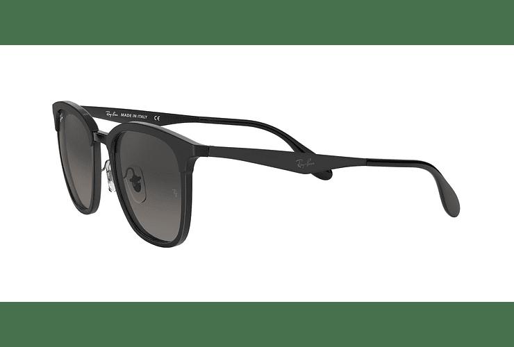 Ray Ban Clubmaster RB4278 Black lente Dark Grey Gradient cod. RB4278 628211 51 - Image 2