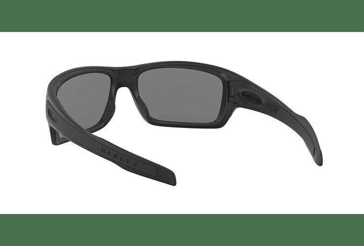 Oakley Turbine Matte Black lente Grey Polarized cod. OO9263-0763 - Image 5