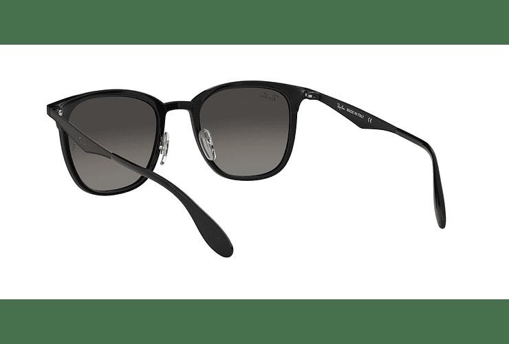 Ray Ban Clubmaster RB4278 Black lente Dark Grey Gradient cod. RB4278 628211 51 - Image 5