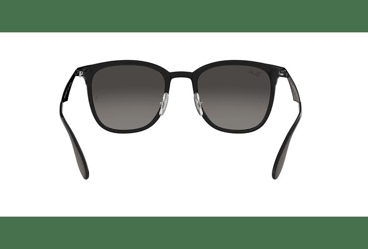 Ray Ban Clubmaster RB4278 Black lente Dark Grey Gradient cod. RB4278 628211 51 - Image 6