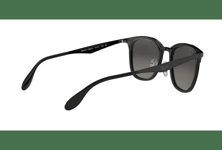 Ray Ban Clubmaster RB4278 Black lente Dark Grey Gradient cod. RB4278 628211 51 - Image 8