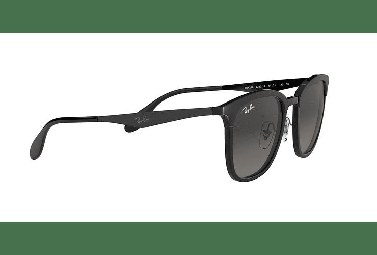 Ray Ban Clubmaster RB4278 Black lente Dark Grey Gradient cod. RB4278 628211 51 - Image 10