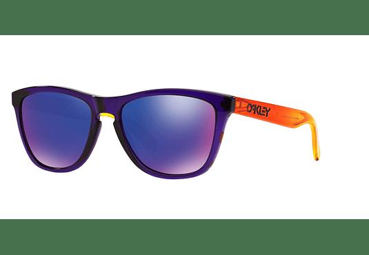Oakley Frogskins Purple lente Positive Red Iridium cod. OO9013-4555