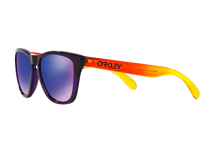 Oakley Frogskins Purple lente Positive Red Iridium cod. OO9013-4555 - Image 2