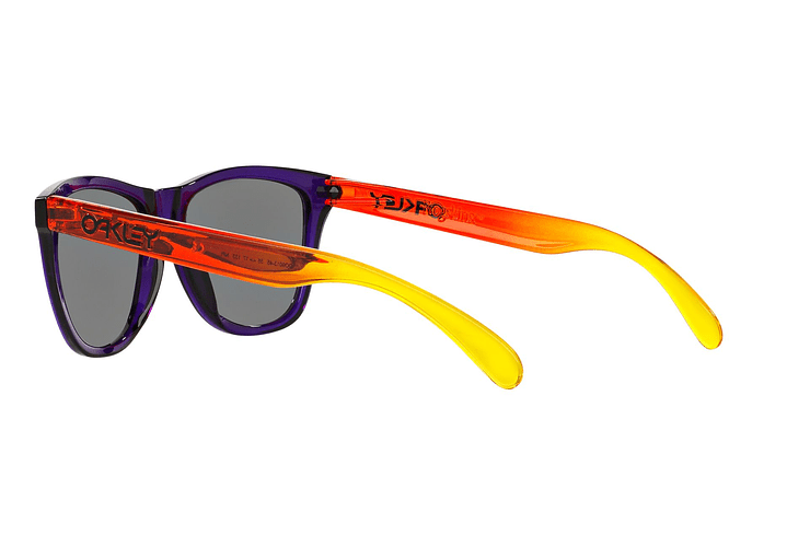Oakley Frogskins Purple lente Positive Red Iridium cod. OO9013-4555 - Image 4
