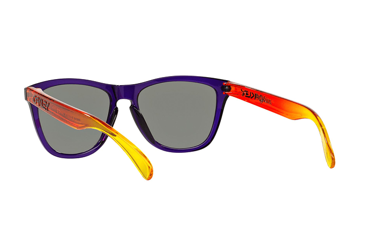 Oakley Frogskins Purple lente Positive Red Iridium cod. OO9013-4555 - Image 5