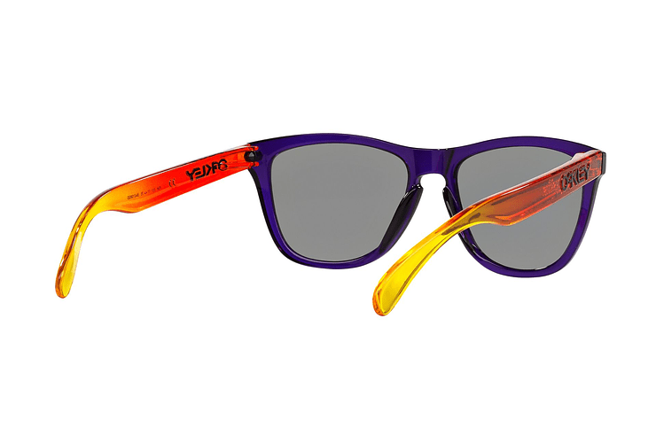 Oakley Frogskins Purple lente Positive Red Iridium cod. OO9013-4555 - Image 7