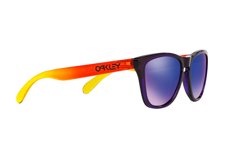 Oakley Frogskins Purple lente Positive Red Iridium cod. OO9013-4555 - Image 10