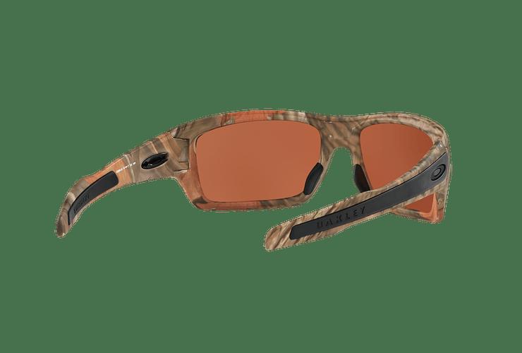 Oakley Turbine Ed. Especial King's Camo Woodland Camo lente Vr28 Black Iridium cod. OO9263-2863 - Image 7