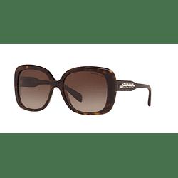 Michael Kors Klosters Dark Tortoise lente Smoke gradient cod. MK2081 300613 56