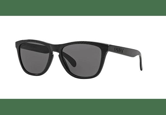 Oakley Frogskins Fingerprint Dark Grey lente Warm Grey cod. OO9013-5655