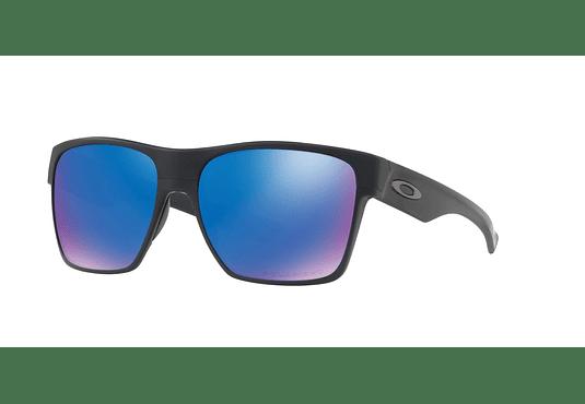 Oakley Twoface XL Matte Black lente Sapphire Iridium Polarized cod. OO9350-0559
