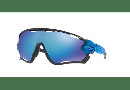 Oakley Jawbreaker Matte Black lente Sapphire Prizm y Polarized cod. OO9290-2231