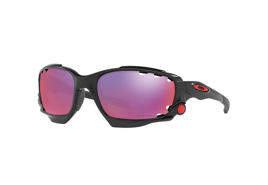 Oakley Racing Jacket Matte Black lente Road PRIZM cod. OO9171-3762