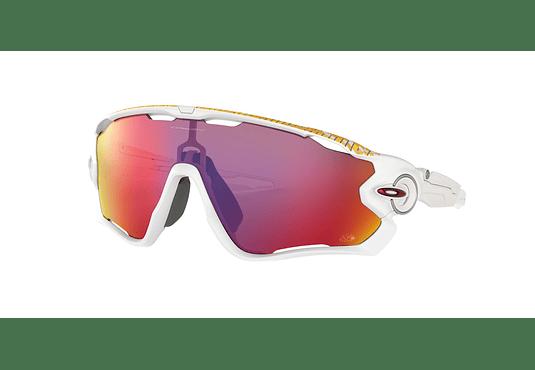 Oakley Jawbreaker Matte White lente Road PRIZM cod. OO9290-2731