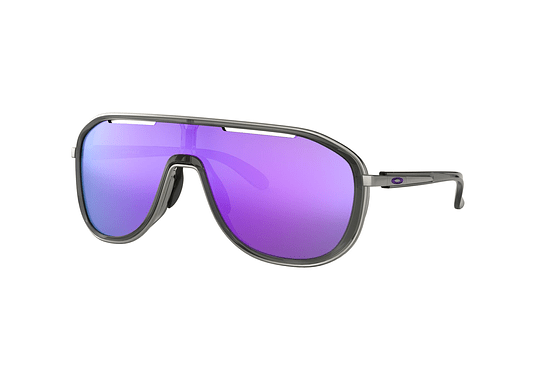 Oakley Outpace Onyx lente Violet Iridium cod. OO4133-0626