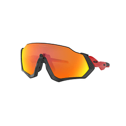 Oakley Flight Jacket Black lente Ruby PRIZM cod. OO9401-0837