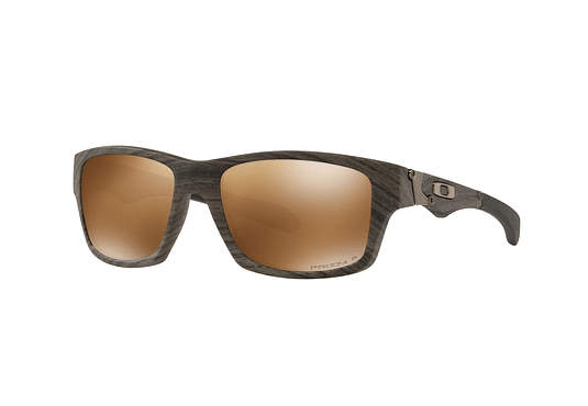 Oakley Jupiter Woodgrain lente Tungsten Prizm y Polarized cod. OO9135-3556