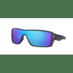 Oakley Ridgeline Matte Grey Smoke lente Sapphire Prizm y Polarized cod. OO9419-0727