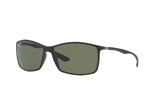 Ray Ban Liteforce RB4179 Matte Black lente Dark Green Polar Polarized cod. RB4179 601S9A 62