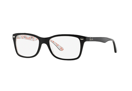Armazón óptico Ray Ban RX5228 Top Black on Texture White cod. RX5228 5014 53
