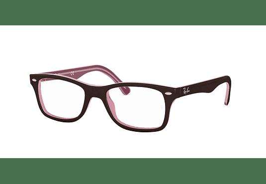 Armazón óptico Ray Ban RX5228 Brown/Pink cod. RX5228 2126 53