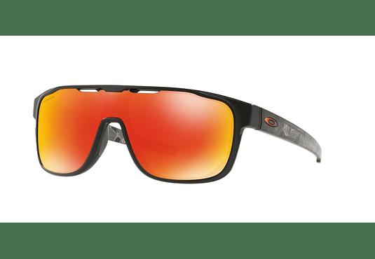 Oakley Crossrange Shield Matte Black Prizmatic lente Ruby PRIZM cod. OO9387-0931