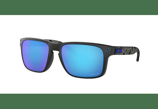 Oakley Holbrook Matte Black Prizmatic lente Sapphire Prizm y Polarized cod. OO9102-H055