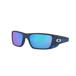 Oakley Fuel Cell Matte translucent blue lente Sapphire PRIZM cod. OO9096-K160