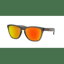 Oakley Frogskins Matte Grey Smoke lente Ruby Prizm y Polarized cod. OO9013-F855