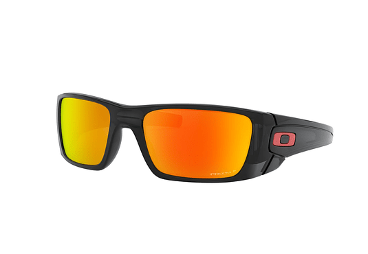 Oakley Fuel Cell Black Ink lente Ruby Prizm y Polarized cod. OO9096-K060