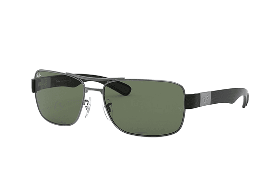 Ray Ban Active RB3522 Gunmetal lente Green cod. RB3522 004/71 61