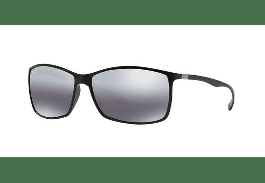 Ray Ban Liteforce RB4179 Matte Black lente Mirror Silver Gradient Polarized cod. RB4179 601S82 62