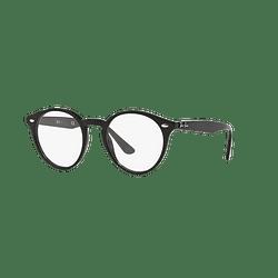 Armazón óptico Ray-Ban Round RX2180V Shiny Black cod. RX2180V 2000 49