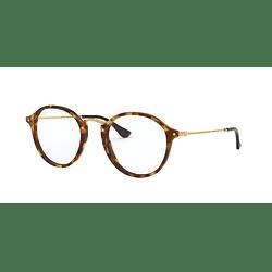 Armazón óptico Ray-Ban Round RX2447V Brown Havana cod. RX2447V 5494 47