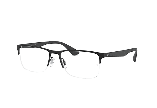 Armazón óptico Ray Ban Metal RX6335 Matte Black cod. RX6335 2503 54