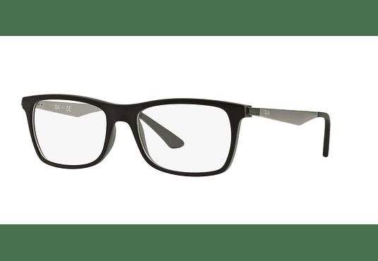 1f6913d837 Ver más detalles · Armazón óptico Ray Ban Square RX7062 Black/Green cod.  RX7062 5197 55
