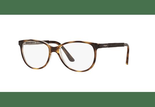 Armazón óptico Vogue Oval VO5030 Havana/Transparent cod. VO5030 1916 53