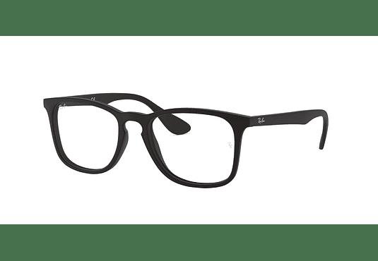 Armazón óptico Ray Ban Estilo Wayfarer RX7074 Rubber Black cod. RX7074 5364 52