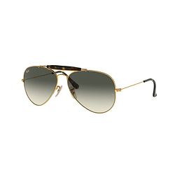 Ray Ban Outdoorsman II Gold lente Grey Gradient cod. RB3029 181/71 62