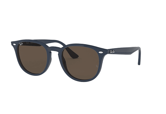 Ray Ban Round RB4259 Blue lente Dark Brown cod. RB4259 638073 51