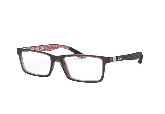 Armazón óptico Ray Ban Square RX8901 Transparent Grey cod. RX8901 5845 55