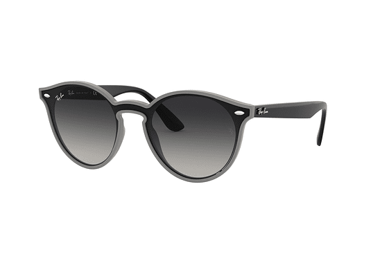 Ray Ban Round RB4380N Blaze Grey Demishiny lente Grey Gradient cod. RB4380N 64158G 37