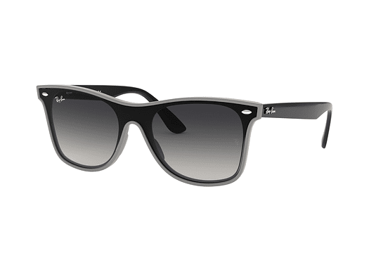 Ray Ban Wayfarer RB4440N Blaze Grey Demishiny lente Grey Gradient cod. RB4440N 64158G 41