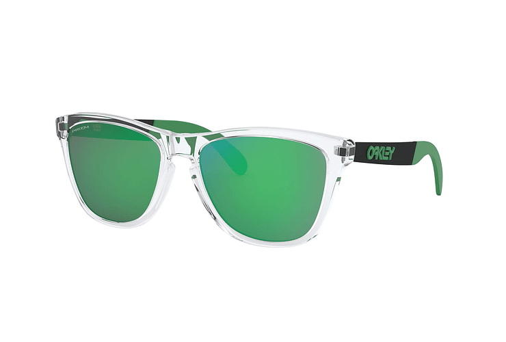 7b5066c0b Oakley Frogskins Mix Polished Clear lente Jade PRIZM cod....