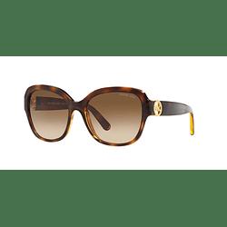 Michael Kors Salzburg Dark Tortoise lente Brown Gradient cod. MK6027 300613 55
