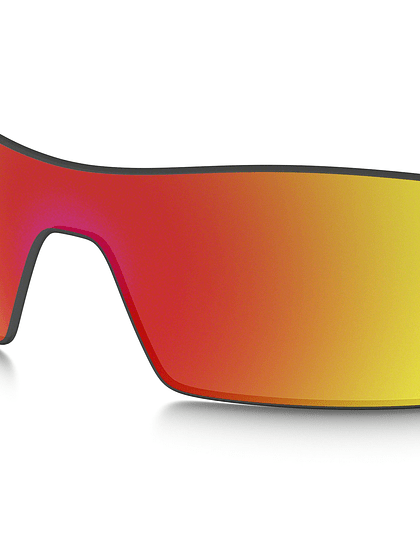 Lente de repuesto Oakley Oil Rig color Ruby iridium cod. 16-700