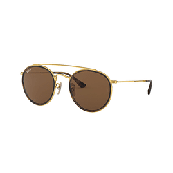 Ray-Ban Round Double Bridge RB3647N Polarized
