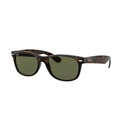 Ray-Ban New Wayfarer Tortoise lente Crystal Green cod. RB2132 902 52