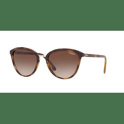 Vogue Edgy Braid VO5270S Dark Havana lente Brown Gradient cod. VO5270S W65613 57